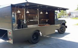 Classic beer and wood fired pizza truck