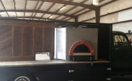 Classsic pizza truck vintage