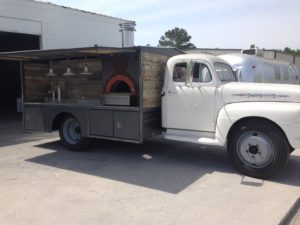 mobile pizza and beer truck