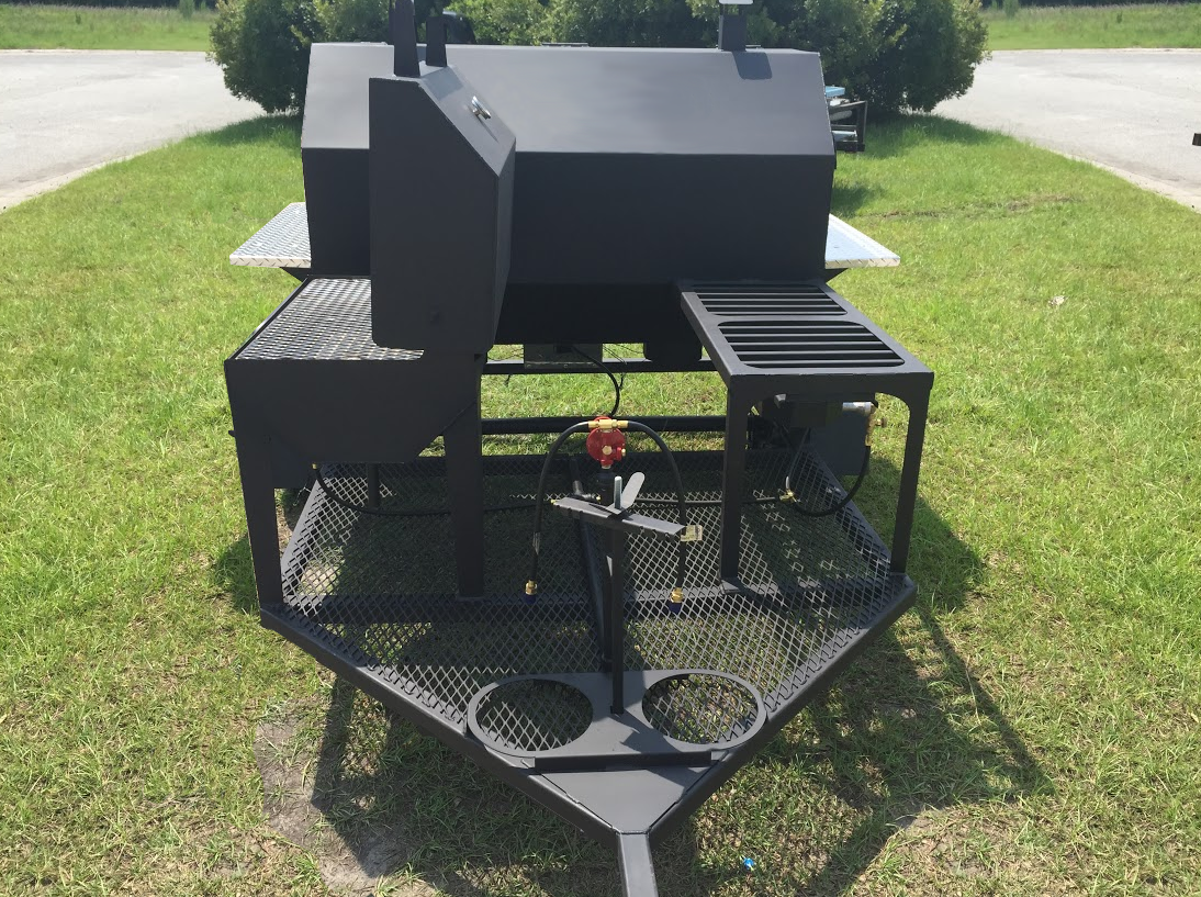 Barbecue trailers gorilla fabrication for Fabrication barbecue exterieur