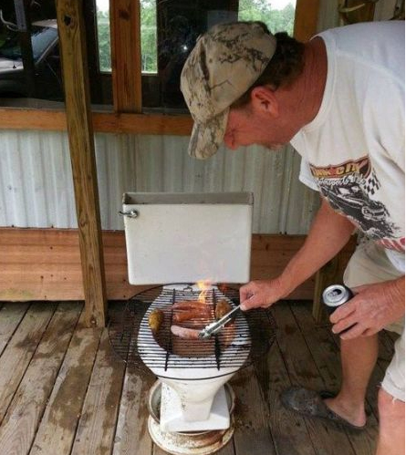 9 Diy Grills That Shouldnt Leave The Backyard on diy car rotisserie
