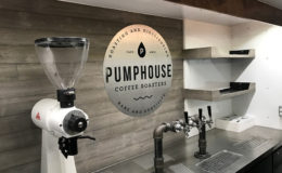 Taps with Pumphouse logo