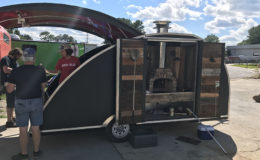 Tear Drop Pizza Trailer